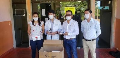 Paraguayos residentes en España envían insumos al Hospital Regional de Concepción