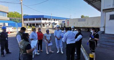 Fiscalía verificó a Frigomerc por denuncia de aglomeración de personas