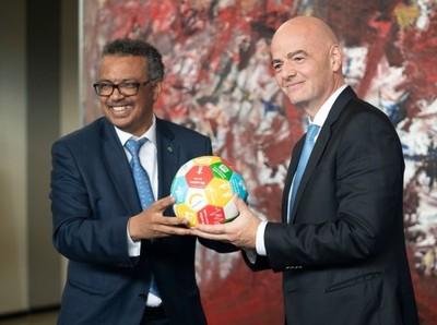FIFA presenta una campaña contra el Coronavirus