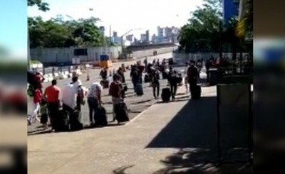 Paraguayos que venían de Sao Paulo quedarán en un hotel de Foz