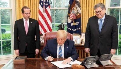 Trump quiere «reabrir» la economía de EEUU el 12 de abril pese a COVID-19