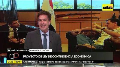 Proyecto de ley de contingencia económica