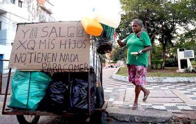Los trabajadores informales claman por asistencia