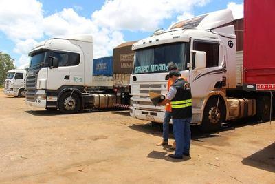 Dinatran registra elevado movimiento de cargas en frontera