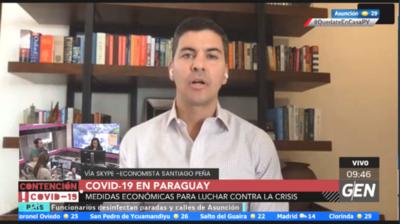 HOY / Santiago Peña, exministro de Hacienda, sobre la situación económica a nivel mundial por la crisis del coronavirus