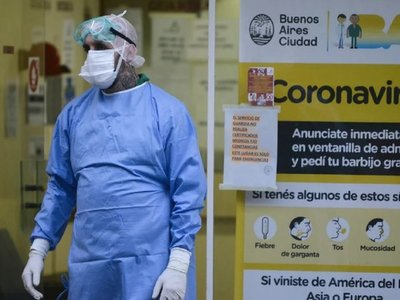 Argentina reporta 2 nuevas muertes por Covid-19