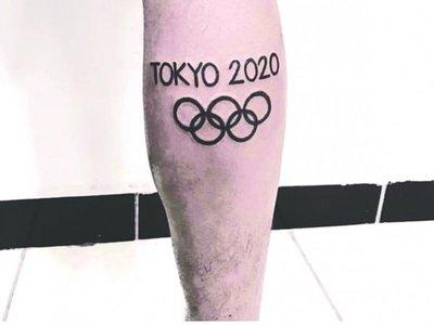 Pidió cambiar su tatuaje por suspensión de JJOO
