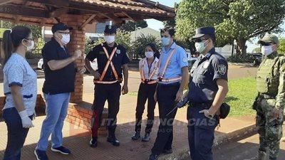 BLOQUEO SANITARIO EN 3 PUNTOS SOBRE RUTA 6 EN COLONIAS UNIDAS