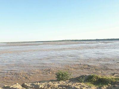 Buen caudal del Pilcomayo sigue regando el Chaco paraguayo