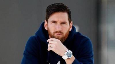 Messi donará un millón de euros para hospitales