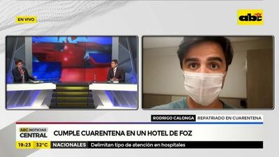 """Queremos volver al Paraguay para aislarnos"""