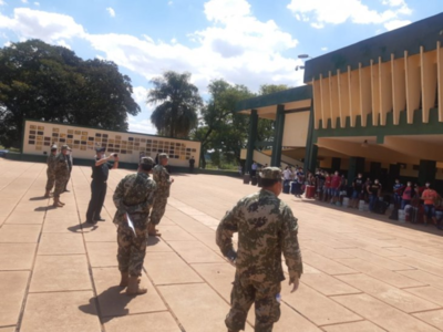 Cuarentena en la Academil: Los 73 paraguayos no pueden salir a recorrer el patio ni los corredores