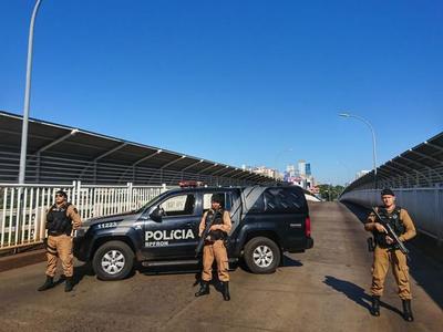 Brasil REFORZO control en la FRONTERA y aumento decomiso de CIGARRILLO y DROGA