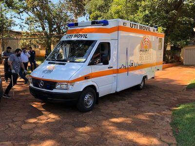 Entregan ambulancia con UTI a hospital de CDE