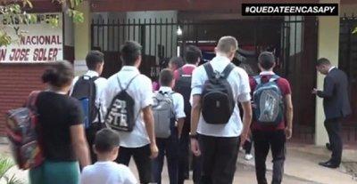 Proponen reducir a la mitad cuotas de colegios privados por tres meses