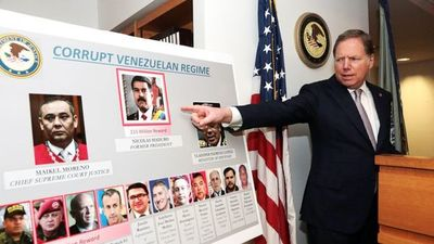 Estados Unidos acusa a Maduro por narcotráfico y pone recompensa por su captura