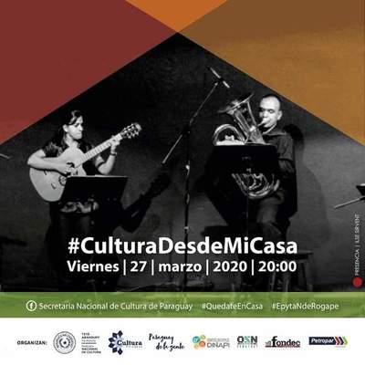 """Festival Cultural """"Desde mi Casa"""" en apoyo a los artistas en situación de vulnerabilidad"""