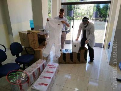 Donan equipos de protección personal al Consejo Departamental de Salud
