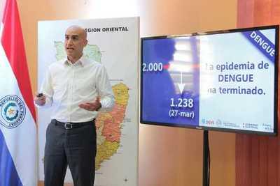 La epidemia de dengue terminó