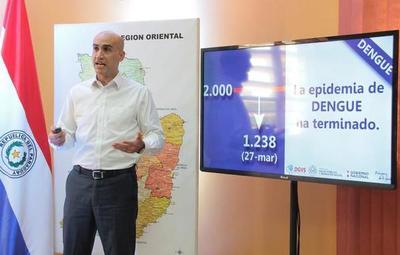 Declaran a la epidemia del Dengue como oficialmente terminada