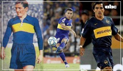 Alonso y el objetivo de superar a otros paraguayos: Benítez y Morel, dos históricos de Boca Juniors