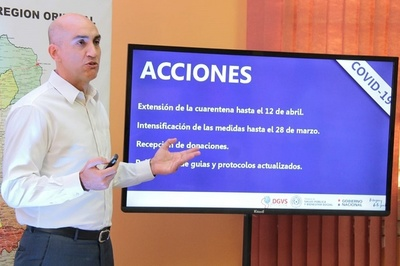 Primer paciente recuperado por coronavirus en Paraguay