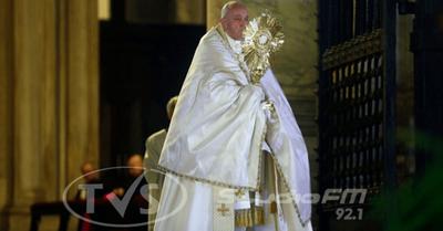 El mundo rezó con el Papa para que pare la pandemia