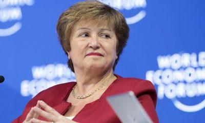 Kristalina Georgieva, presidenta del FMI, dijo que el mundo ha entrado en una recesión tan mala o peor que la de 2009