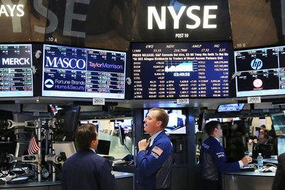 Wall Street abre en rojo y el Dow pierde 800 puntos tras 3 días de ganancias