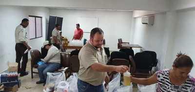 Concepción: Funcionarios de la ANDE inican campaña solidaria