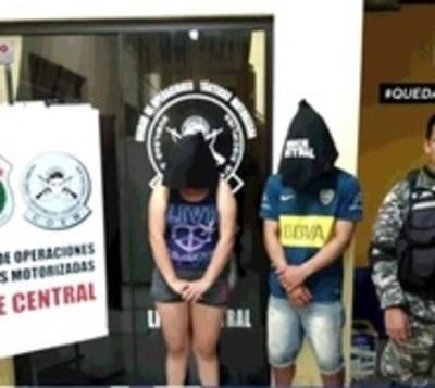 Casi un centenar de personas detenidas por no respetar cuarentena