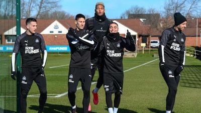 El divertido cuestionario de Miguel Almirón en el Newcastle United