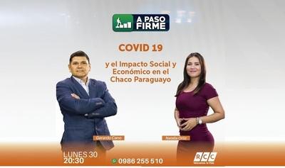 Covid 19: El impacto social y económico en el Chaco será tema de debate en RCC TV