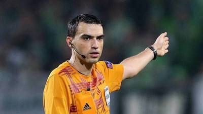 Resultado negativo para árbitro que condujo Valencia vs. Atalanta