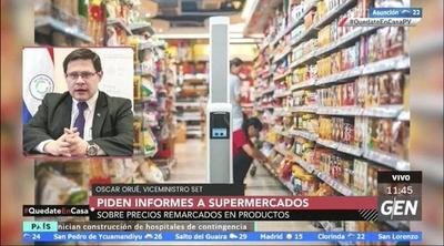 HOY / Oscar Orué, Viceministro de Tributación, sobre la solicitud de informes a supermercados, por los precios remarcados en productos
