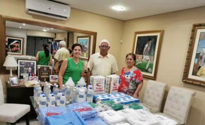 HOY / Futbolista paraguayo dona insumos médicos a hospital de Limpio