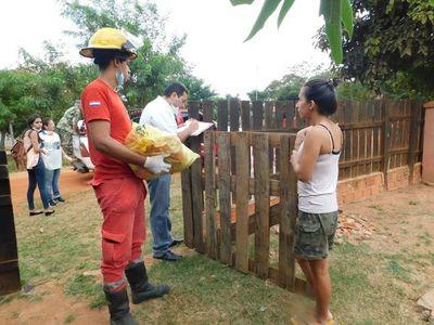 Entregan kits de alimentos a familias carenciadas en Coronel Oviedo