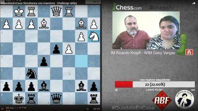 """""""La cuarentena les viene bien a los ajedrecistas"""""""