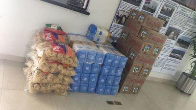 Entregan 400 kits de alimentos en Paraguarí y Carapeguá