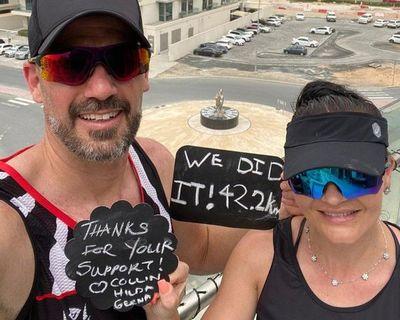 Maratón en un balcón de 20 metros