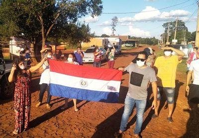 Movilización contra albergue de confinados en CDE