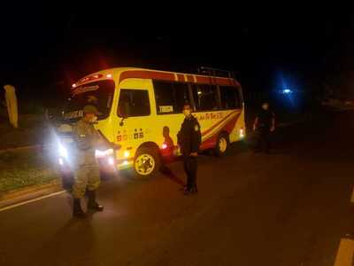 Detienen a 14 personas en Horqueta por violar cuarentena