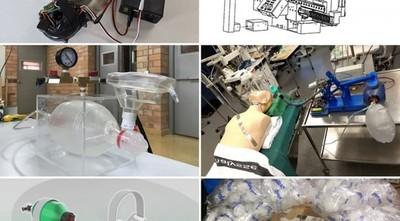 COVID-19: en busca del primer ambú automatizado 'made in Paraguay'