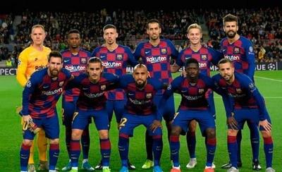 HOY / Jugadores del Barcelona donan el 70% de sus sueldos a los empleados del club