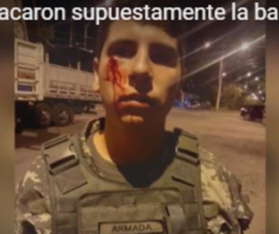 Desconocidos atacaron base militar en Itá Enramada