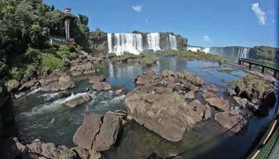 """Cataratas del Yguazú se está """"SECANDO"""""""
