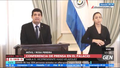 HOY / Conferencia de Prensa en el Palacio