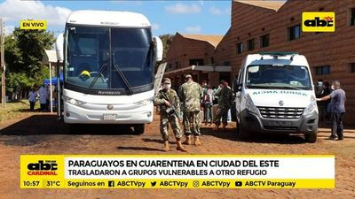 CDE: Paraguayos en cuarentena se quejan de albergue