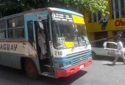 Coronavirus: Asunción establece nuevos horarios de buses y uso obligatorio de tapabocas en pasajeros