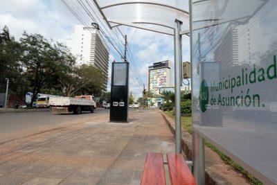 Asunción: Municipalidad establece horario de buses, y pasajeros no podrán subir a las unidades sin tapabocas